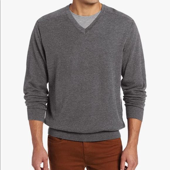 Cutter and Buck men's V Neck Sweater L